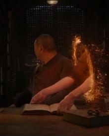 Doctor Strange stealing books